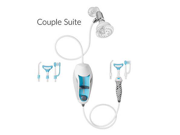 ToothShower® Water Flosser Suite 2.0 (Couple)