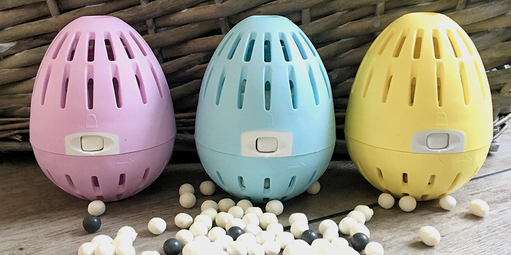 Three Ecoegg laundry devices