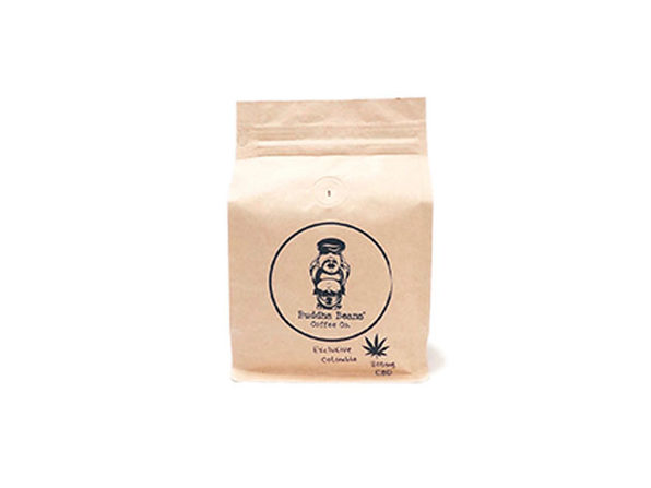 Buddha Beans CBD-Infused Whole Coffee Beans (Colombia/12oz)