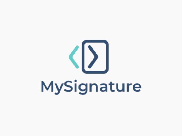 MySignature Email Signature Generator (3 Signatures/Lifetime)