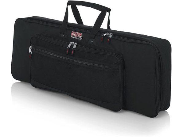 Gator GKB-49 Cases Padded Keyboard Gig Fabric Bag Fits 49 Note Keyboards - Black (No Box)