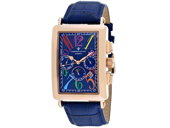 Christian Van Sant Men's Prodigy Blue Dial Watch - CV9144