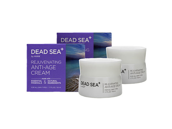 Dead Sea⁺ Rejuvenating Anti-Age Cream: 2-Pack