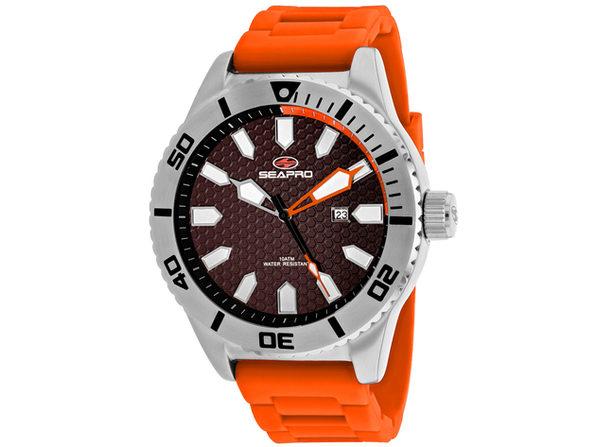 Seapro Men's Brigade Black Dial Watch - SP1315
