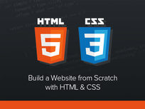'Build a Website from Scratch with HTML & CSS' Course - Product Image