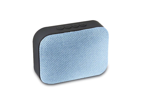 STK Portable Wireless Fabric Speaker (Blue)