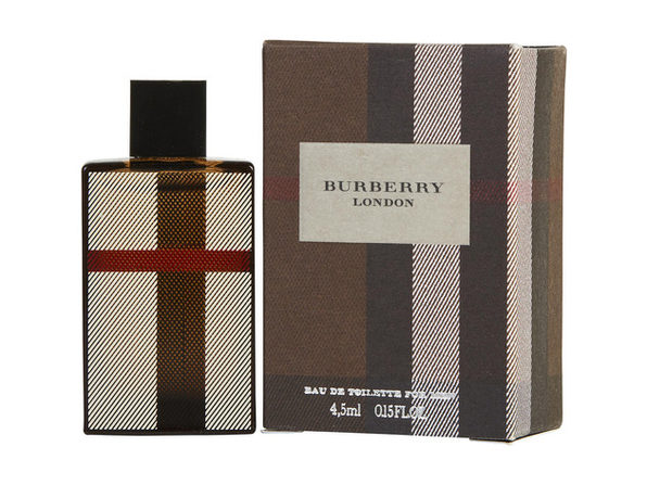 BURBERRY LONDON by Burberry EDT .15 OZ (NEW) MINI for MEN ---(Package Of 5) - Product Image