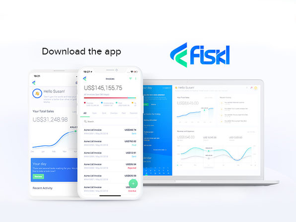 Fiskl Plus Financial Management App: 3-Yr Subscription