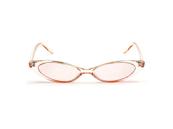 Rose Cat Eye Sunglasses (Pink)