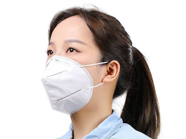 KN95 Folding 4-Layer Face Masks: 10-Pack