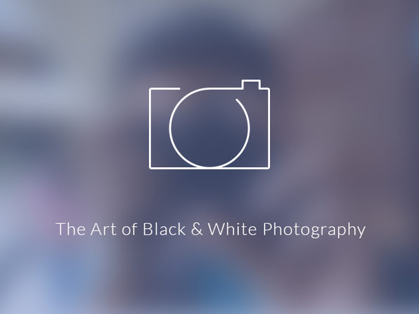 The Art of Black & White Photography - Product Image