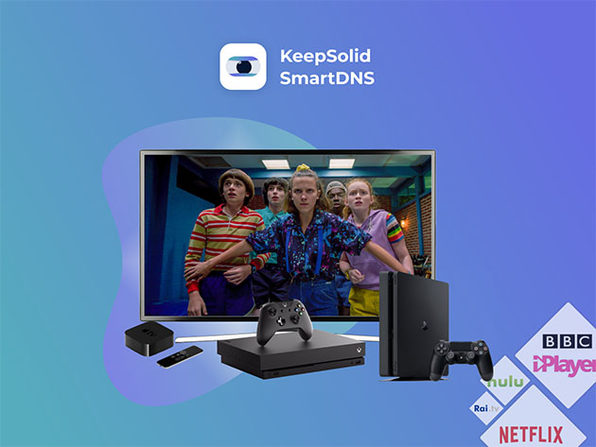 KeepSolid SmartDNS: 1-Yr Subscription