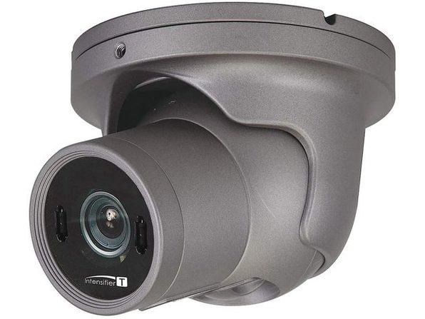2MP 1080P VNDL/DOME GREY 3.6MM LENS - Product Image