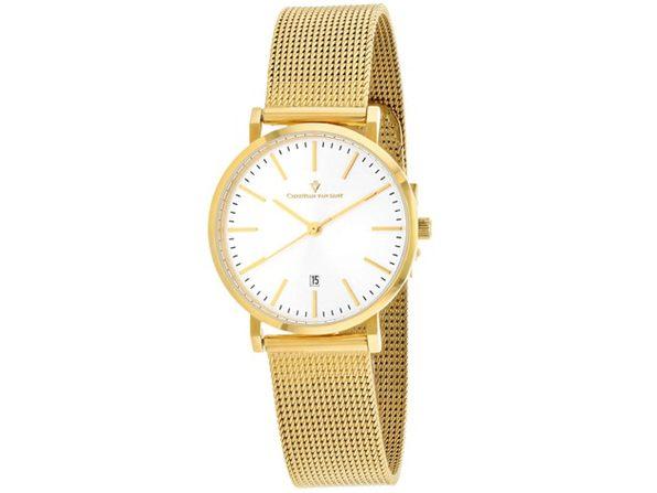 Christian Van Sant Women's Paradigm Silver Dial Watch - CV4225