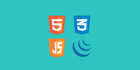 Quick Front-End Website Creation: HTML, CSS, JavaScript & jQuery - Product Image
