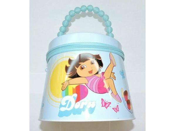 Dora the Explorer Round Tin Box Carry All Purse