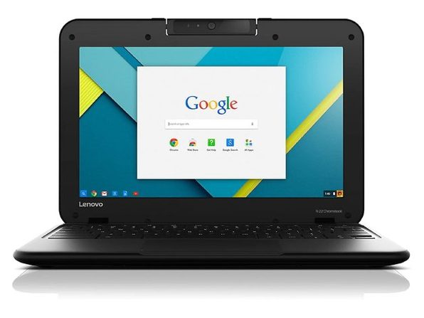 "Lenovo n22 11"" Chromebook, 2.16GHz Intel Celeron, 4GB RAM, 16GB SSD, Chrome (Refurbished Grade B)"