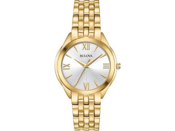 Bulova 97L160 Womens Gold Classic Watch - Product Image