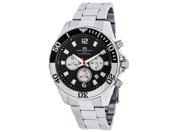 Oceanaut Men's Sevilla Black Dial Watch - OC2524