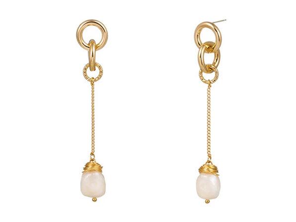Baroque Pearl Drop Earrings