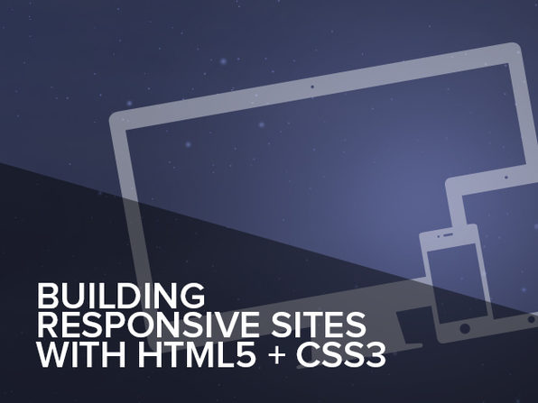 Building Responsive Websites with HTML5 & CSS3 Online Course - Product Image