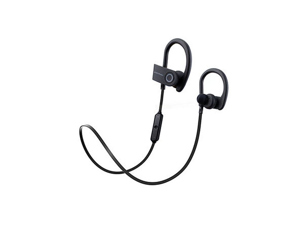 PowerBuds Wireless Running Sport Earphones - Black - Product Image