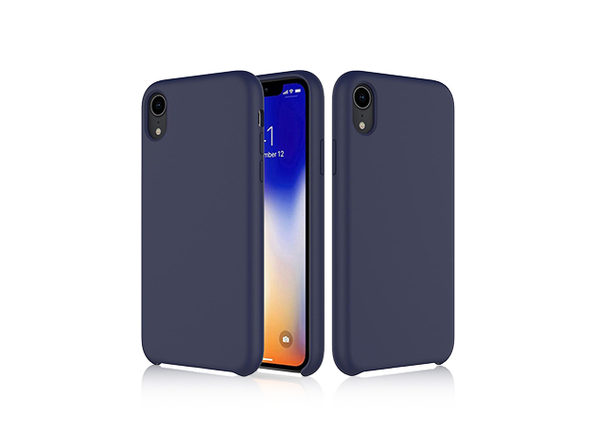 iPM Silicone iPhone X Series Case (iPhone XR/Navy)