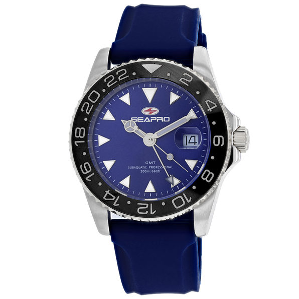 Seapro Men's Blue Dial Watch - SP0125 - Product Image