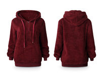 Plush Pullover Hoodie, Small - Product Image
