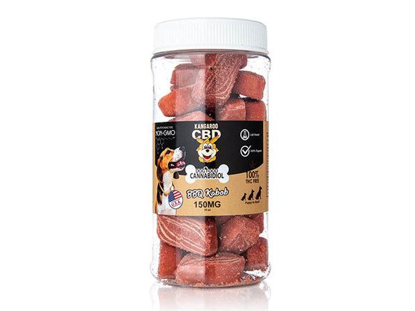 Kangaroo 150mg CBD Pet Treats BBQ Kabob - Product Image