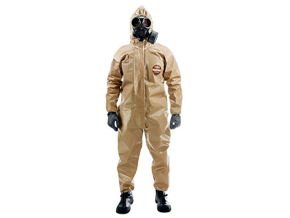 Haz-Suit: Protective CBRN Hazmat Suit (LG/XL)