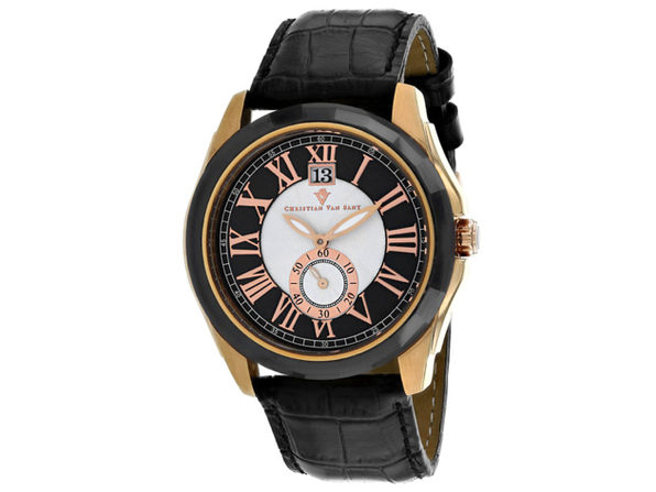 Christian Van Sant Men's Gravity Black Dial Watch - CV3103