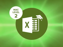 Excel 2016 Mac Level 2 - Product Image