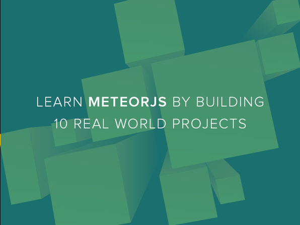 Learn MeteorJS By Building 10 Real World Projects - Product Image