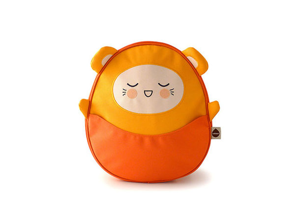 Milkdot Kawaii Pac Mini Backpack (Charlie/Orange)