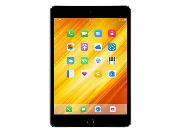 Apple iPad Mini 4, 128GB - Space Gray (Refurbished: Wi-Fi Only)