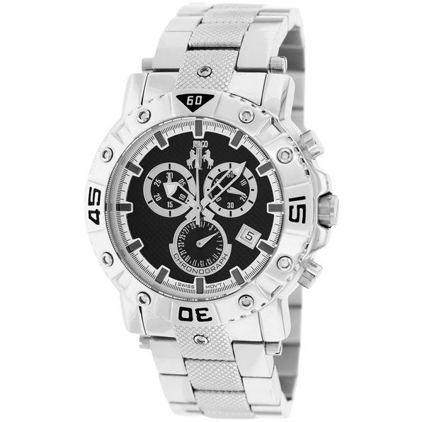 Jivago Men's Titan Black Dial Watch - JV9120