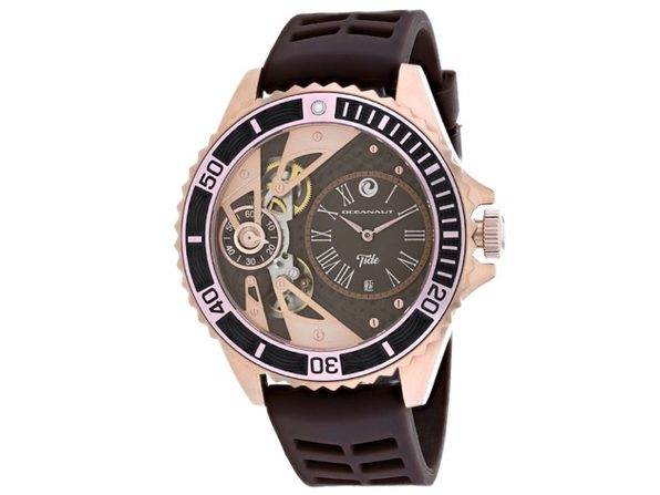 Oceanaut Men's Tide Brown Dial Watch - OC0996