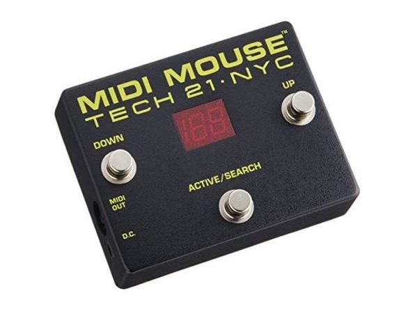 Tech 21 MM1 MIDI Mouse Controllers For Stage and Studio Applications - Black (Like New, Damaged Retail Box)