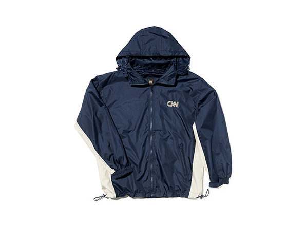 CNN 2 Tone Windbreaker Navy/Khaki XL