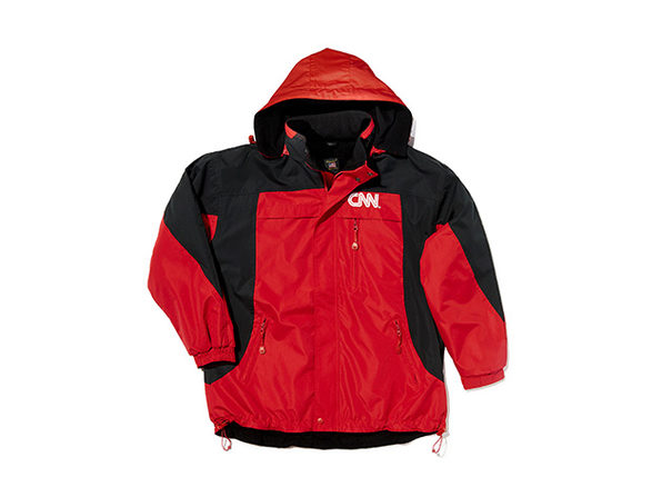 CNN On Air Jacket (Red/Black)