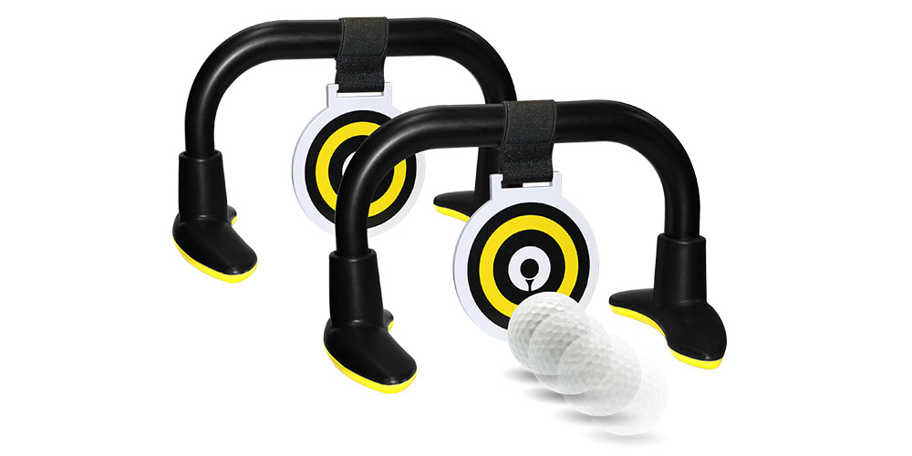 A putting trainer tool.