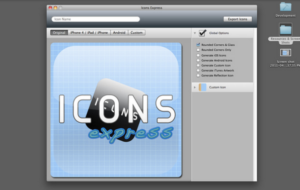 Icons Express - Product Image