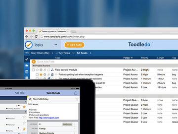 Toodledo Plus Online Task Manager width=500