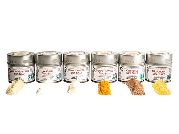 Chef's Secret Finishing Sea Salts Collection