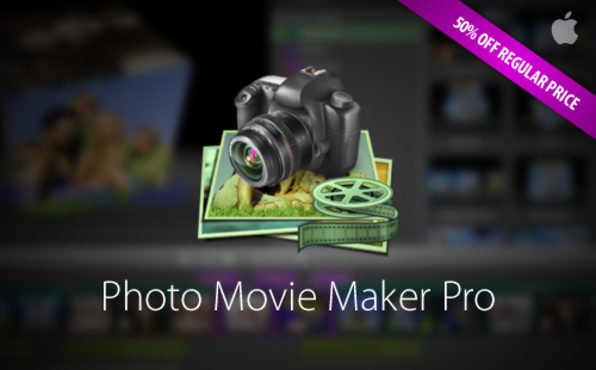 Photo Movie Maker Pro For Mac | Cult of Mac Deals