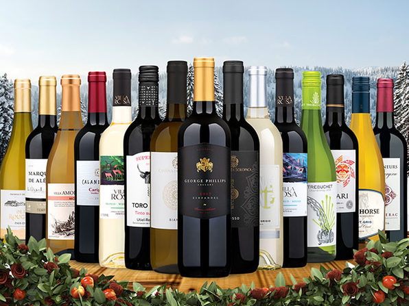 15 bottles of Mixed Wines from Wine Insiders for only $85! - Product Image