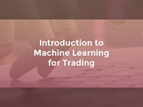 Introduction to Machine Learning for Trading - Product Image