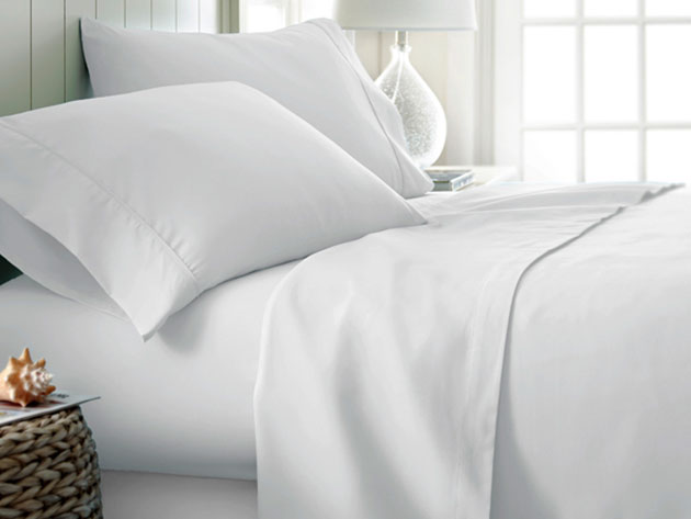 4-Piece Classic Queen Sheet Set, on sale for $33.95 (57% off)