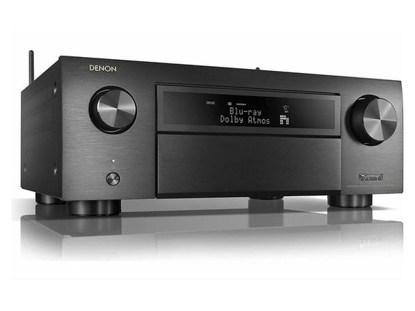 Denon Receiver 8 HDMI In/3 Out High Power 11.2 Channel (140 W/Ch) Home Theater